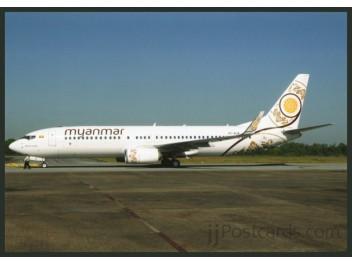 Myanmar National Airl., B.737