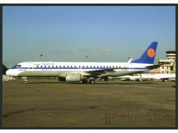 Myanmar National Airl., Embraer 190