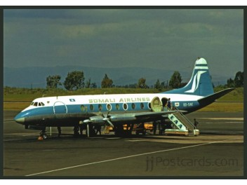 Somali Airlines, Viscount