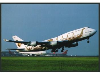 Narita: Thai International, B.747
