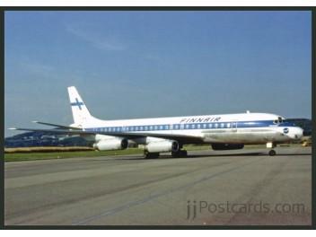 Finnair, DC-8