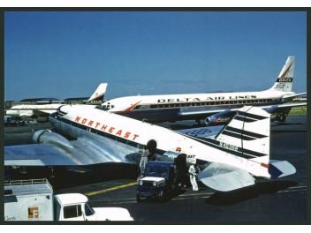 Northeast DC-3, Delta DC-8+CV-880