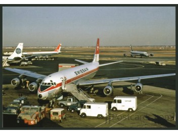 Swissair, VIASA DC-8 + Pan Am 707