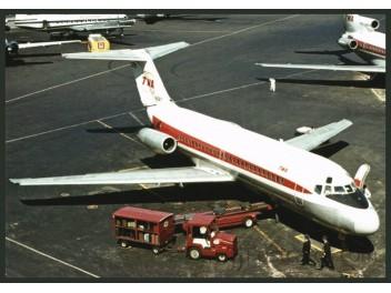 TWA, DC-9