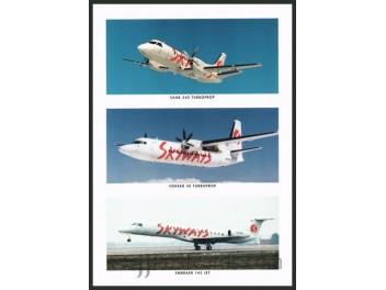 Skyways, Saab 340 / F50 / ERJ 145