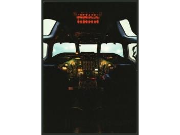 Cockpit, Scanair DC-8
