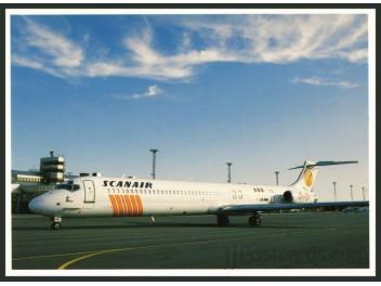 Scanair, MD-80