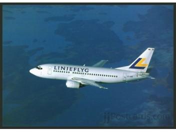 Linjeflyg, B.737