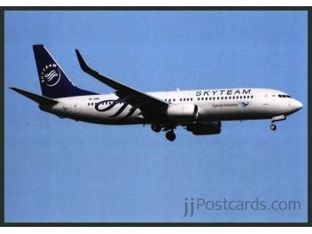Garuda/SkyTeam, B.737