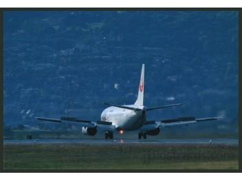 JAL, B.737