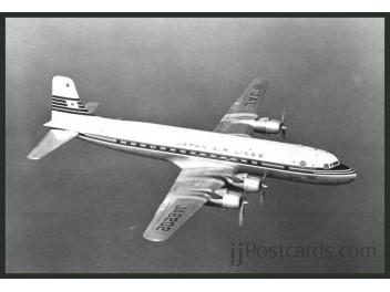 JAL, DC-6