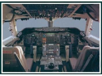 Cockpit, Lufthansa B.747-229