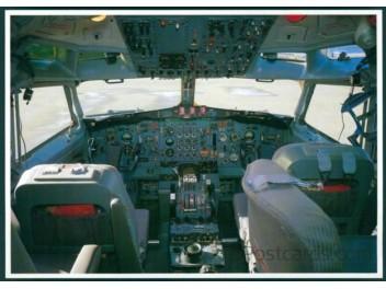 Cockpit, B.727-199