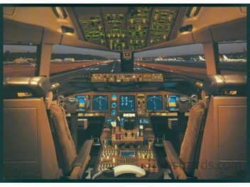 Cockpit, Boeing Co. B.777
