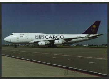 Saudia Cargo, B.747