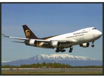 UPS, B.747