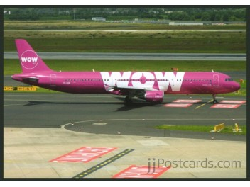 Wow Air, A321