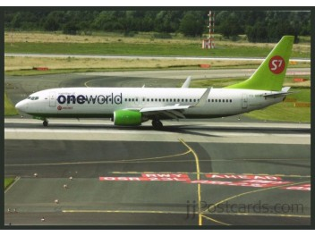 S7 Airlines/oneworld, B.737