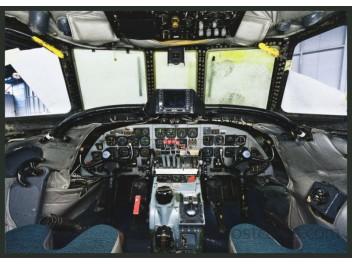 Cockpit, SCFA Super Constellation