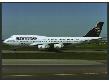 Air Atlanta Icel./Iron Maiden, B.747