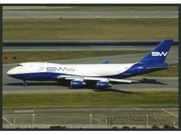 Silk Way Italia, B.747