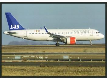 SAS, A320neo