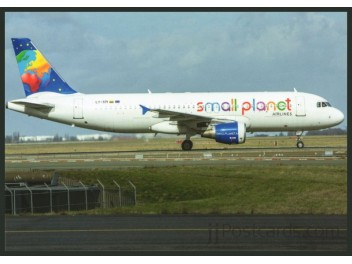 Small Planet Airlines, A320