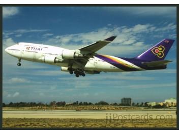 Thai International, B.747