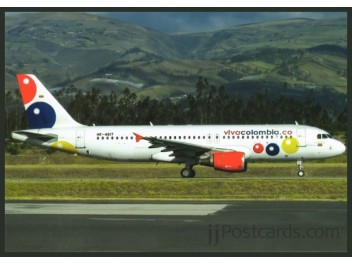 Viva Colombia, A320