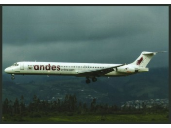 Andes Lineas Aereas, MD-80
