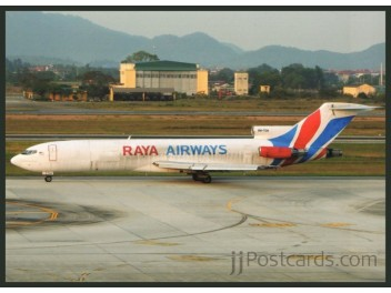 Raya Airways, B.727