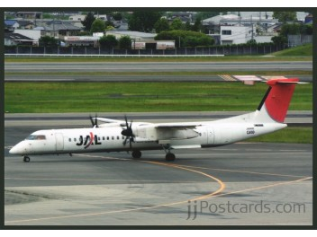 JAL / Japan Air Commuter, DHC-8