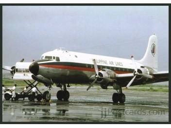 Philippine Air Lines, DC-4