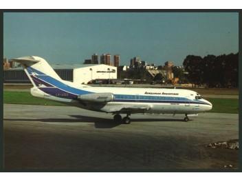 Aerolineas Argentinas, F28