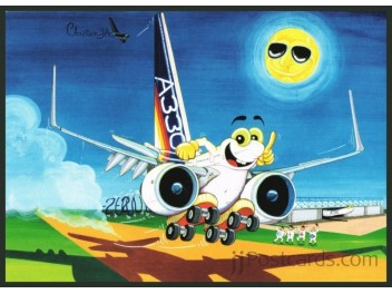 Cartoon, Airbus Industries A330