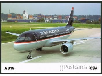 US Airways, A319