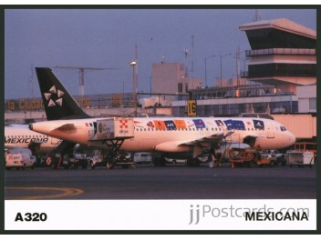 Mexicana/Star Alliance, A320