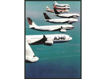 Airbus Industries, family of airplanes