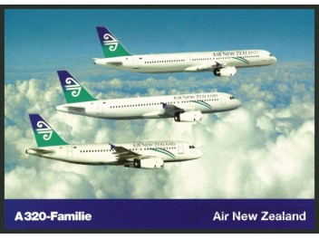 Air New Zealand, A319+A320+A321