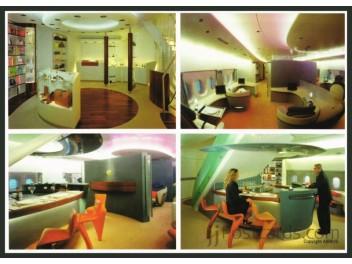 A380, Innenansichten