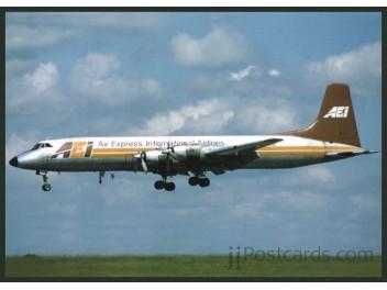 Air Express International - AEI, CL-44