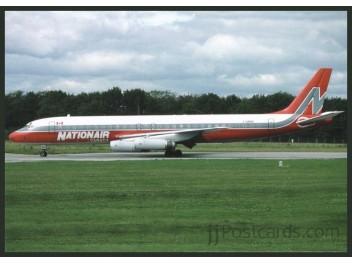 Nationair Canada, DC-8