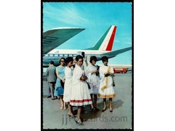 Addis Abeba: Alitalia DC-8