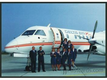Delta Air, Saab 340 & Crew