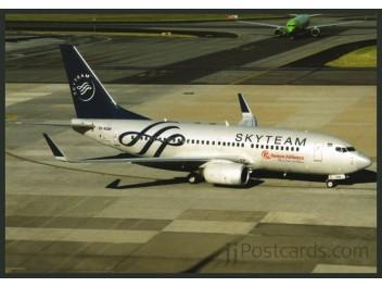 Kenya Airways/SkyTeam, B.737