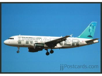 Frontier, A319