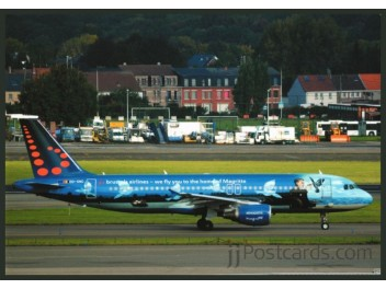 Brussels Airlines, A320