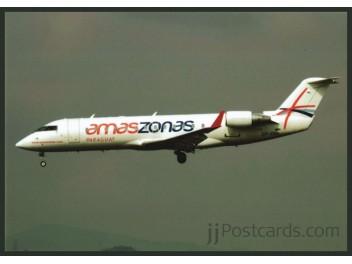 Amaszonas, CRJ 200