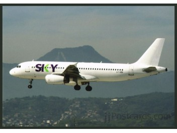 Sky Airline (Chile), A320