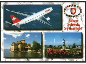 Swissair, A330 / 3 views